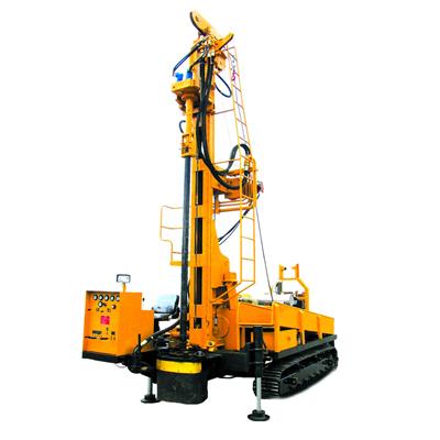 宏大钻孔HD400SJ多功能水井钻机高清图 - 外观