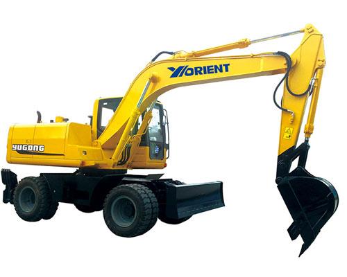 愚公WYL135X-8轮式挖掘机高清图 - 外观
