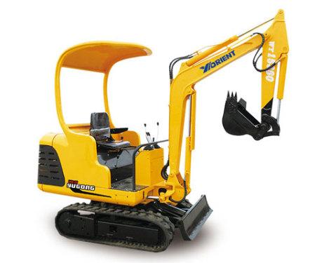 愚公WY15-7履带式挖掘机