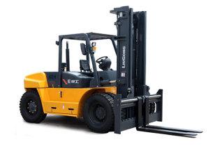 柳工CLG2080H内燃平衡重式叉车高清图 - 外观