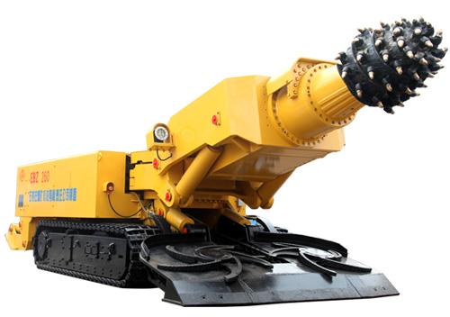 石煤机EBZ300(A)/EBZ260岩石掘进机高清图 - 外观