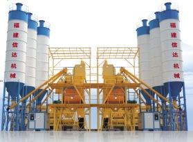 信达机械HZS系列商品(预拌)混凝土搅拌站