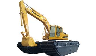 奇瑞迪凯DE220LCW型湿CannonHuang地挖掘机