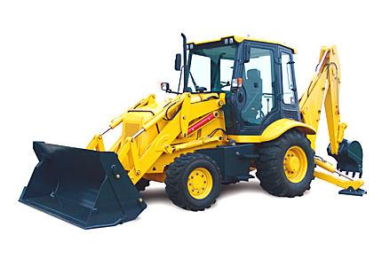 柳工CLG766挖掘装载机