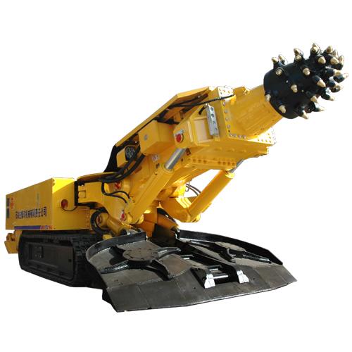 石煤机EBZ160(A)型硬岩石掘进机高清图 - 外观
