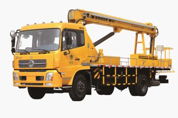 海伦哲XHZ5113JGKA东风25米 混合臂高空作业车