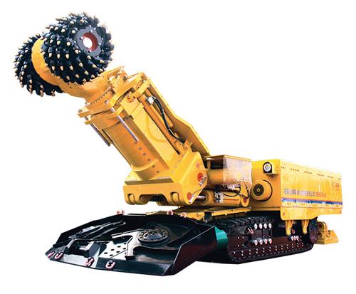 石煤机EBH300(A)岩石掘进机高清图 - 外观