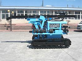 宏大钻孔HD118液压潜孔钻机