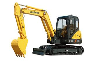 柳工CLG906D挖掘机高清图 - 外观