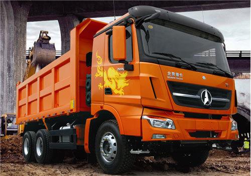 内蒙古北方重工ND3250B38J5型矿用自卸车