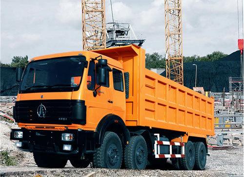 内蒙古北方重工ND33101D46J前举/ND33101D46J侧翻矿用自卸车