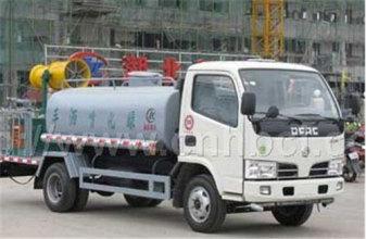 内蒙古北方重工10吨型北汽福田底盘洒水车高清图 - 外观