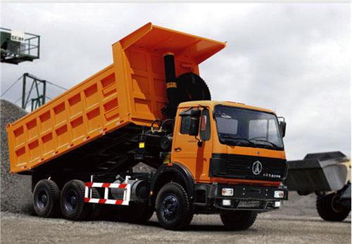 内蒙古北方重工ND3252B44J型矿用自卸车高清图 - 外观