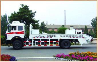 内蒙古北方重工ND1160W241EJ型单动力车载泵高清图 - 外观