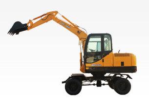 晋工JGM906L轮式挖掘机高清图 - 外观