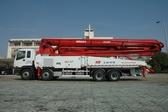 上海華建HJSP 5RZ53臂架式輸送泵車
