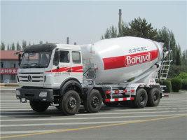 巴里巴BZ5313GJBNA(北奔18m3)搅拌运输车