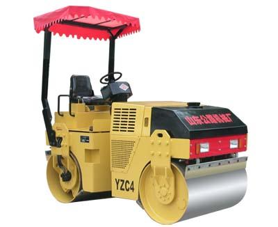 路星YZC4双钢轮振动压路机高清图 - 外观