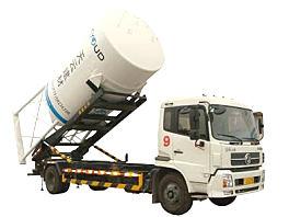 南京天印TYK5120ZGB型干混砂浆背罐车