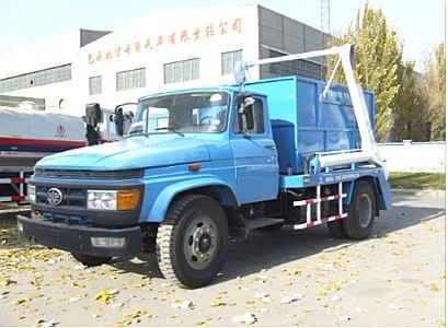 内蒙古北方重工BZ5090ZBB摆臂式自装卸垃圾√车