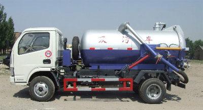 内蒙古北方重工BZ5120GXW型真空吸污高清图 - 外观