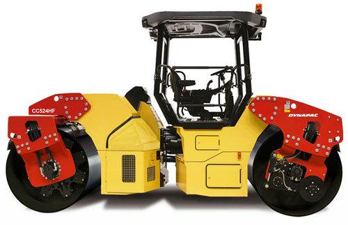 戴纳派克CC524HF双钢轮压路机