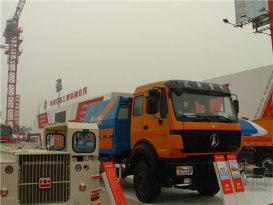 内蒙古北方重工ND1161A55J型双动力车载泵