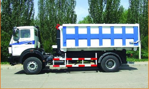内蒙古北方重工BZ5160ZXX型14吨车厢可卸式垃圾车高清图 - 外观