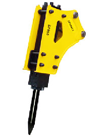斯帕克SP-850小型破碎锤高清图 - 外观
