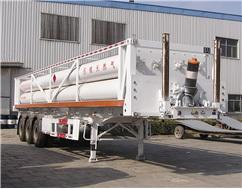 中通汽車ZTQ9370GGYQD液壓子站高壓氣體長管半掛車