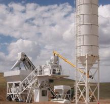 鸿达YHZS75移动式混凝土搅拌站