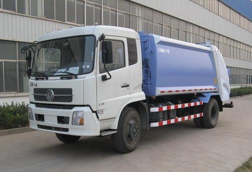 青岛中集环卫ZJV5162ZYSHBE型12-14立方 压缩式垃圾车高清图 - 外观