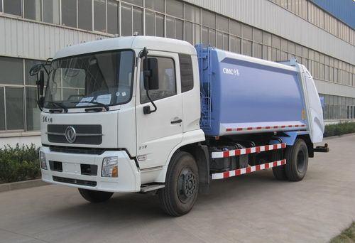 青岛中集环卫ZJV5162ZYSHBE型12-14立方 压缩式垃圾车