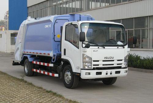 青岛中集环卫ZJV5100ZYSHBQ型8-10立方 压缩式垃圾车