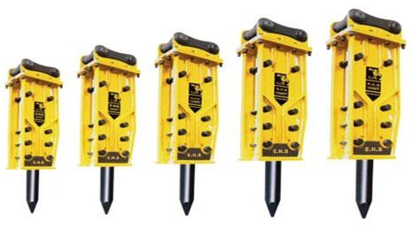 韩泰克ENB系列静音型破碎锤高清图 - 外观