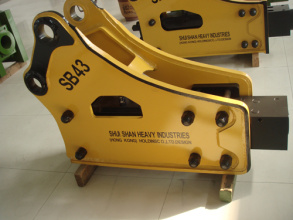 水山SSSB系列破碎锤高清图 - 外观