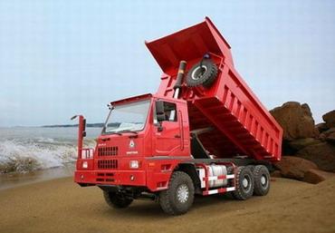 济南重汽HOVA60矿用卡车高清图 - 外观
