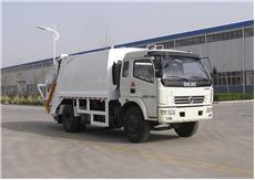 中通汽车ZTQ5120ZYSE5H38压缩式垃圾车高清图 - 外观