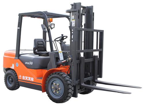 安徽合叉CPC(D)20-CPC(D)35内燃平衡重式柴油叉车高清图 - 外观