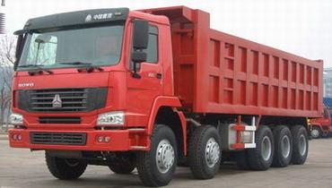 济南重汽HOWO 10×6系列自卸车高清图 - 外观
