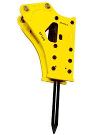 斯帕克SP-1400中型破碎锤高清图 - 外观