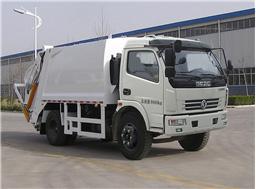 中通汽车ZTQ5081ZYSE5G31压缩式垃圾车高清图 - 外观