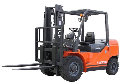 安徽合叉5~7吨柴油内燃叉车高清图 - 外观