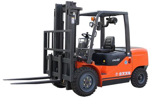 安徽合叉4~5吨内燃平衡重式叉车高清图 - 外观