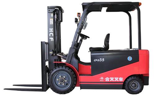 安徽合叉CPD10~35蓄电池平衡重式电动叉车高清图 - 外观