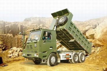 济南重汽威泺30自卸车高清图 - 外观