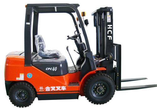 安徽合叉4~5吨内燃平衡重式柴油叉车高清图 - 外观