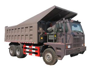 中国重汽HOWO系列矿山霸王矿用卡车高清图 - 外观