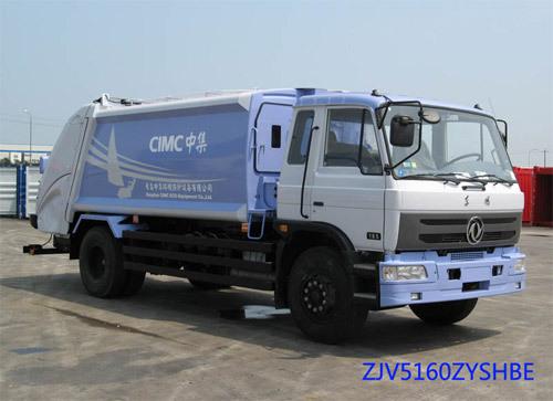 青岛中集环卫ZJV5160ZYSHBE型12-14立方 压缩式垃圾车