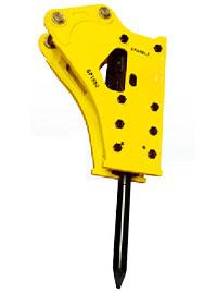 斯帕克SP-1550中型破碎锤高清图 - 外观